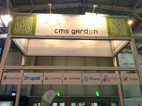 cms hannover joomla at cms garden at cebit 2014 in hannover germany