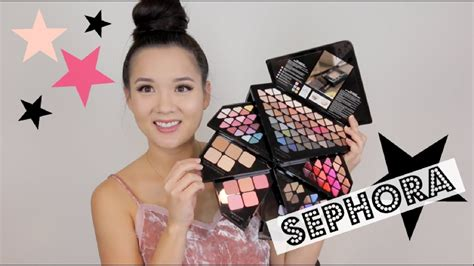 Sephora Into The Palette sephora into the palette unboxing makeup tutorial