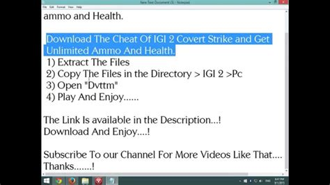 free download igi 1 cheat codes for pc cheat code igi download igi 2 covert strike cheat codes