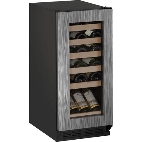 panel ready wine cooler u1215wcint00a u line wine captain 15 quot undercounter wine