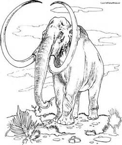 Wooly Mammoth Coloring Page Coloring Pages Wooly Mammoth Coloring Page