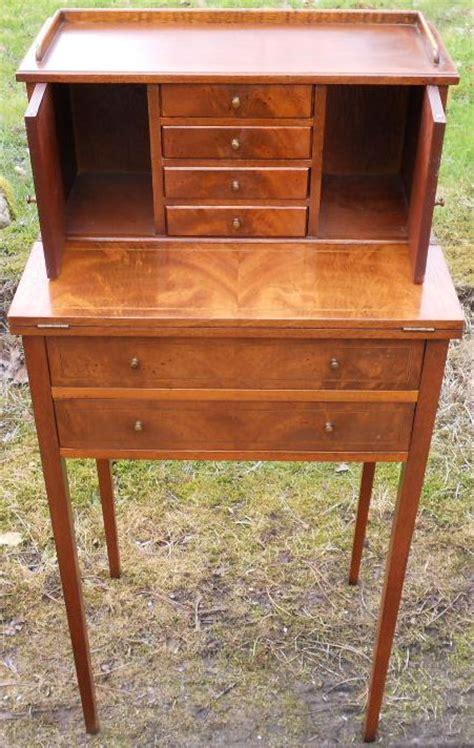 Sold Ladies Small Mahogany Writing Desk