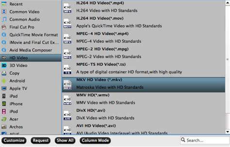 format audio tv play brd dvd movie for watching via ac ryan player ilcorto