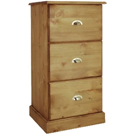 Pine Filing Cabinet 3 Drawer by Waxed Solid Pine 3 Drawer Pine Filing Cabinet Kennedys