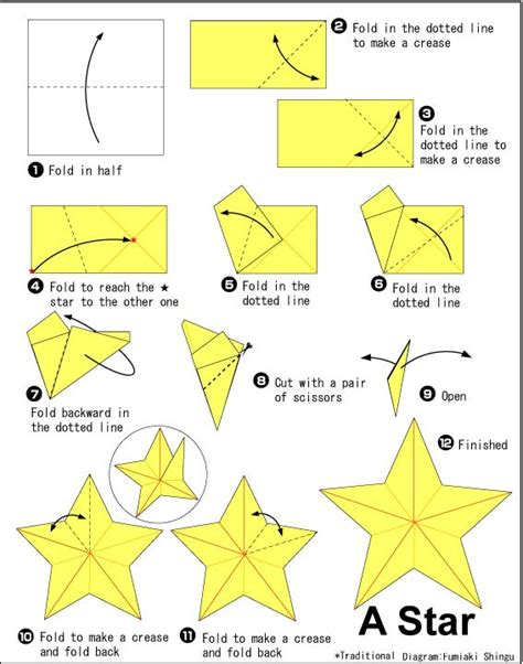 Origami Starfish - how to make an origami starfish 25 unique easy origami
