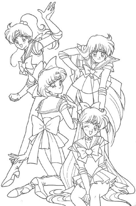 Printable Sailor Moon Coloring Pages Coloring Me Sailor Moon Coloring Pages