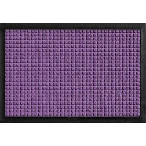 The Purple Mat by Bungalow Flooring Aqua Shield With Rubber Border Purple 17 5 In X 26 5 In Pet Mat 200681827