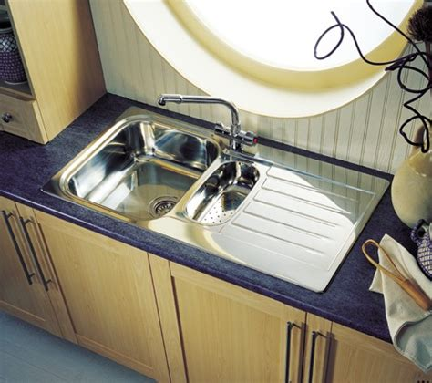 seattle 1 5 bowl stainless steel kitchen sink reversible