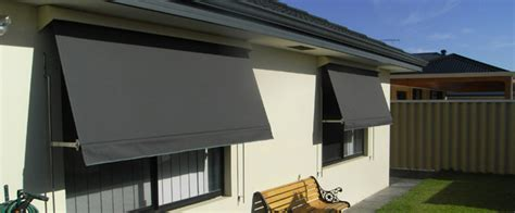 Exterior Blinds And Awnings Automatic Rollup Outdoor Blinds