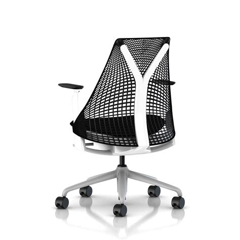 herman miller all black sayl chair office furniture