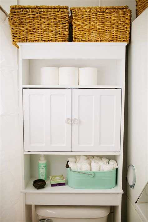 ideas for bathroom storage 17 brilliant over the toilet storage ideas diy fixated
