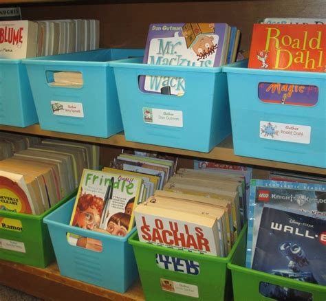 simple solutions for an organized classroom library