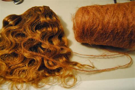 Weft Tutorial Wig | fairywool dolls mohair weft tutorial