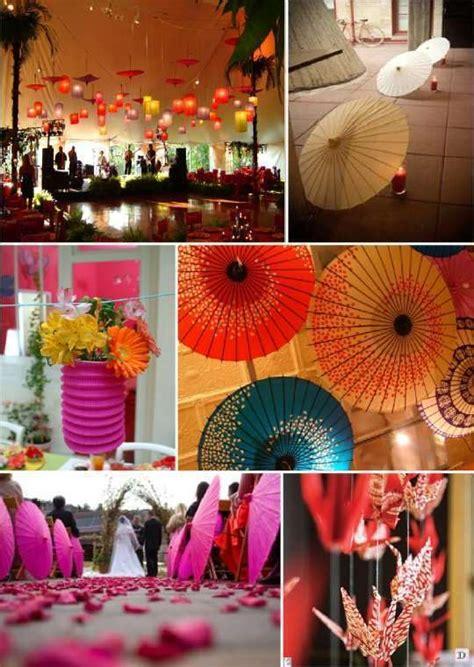 mariage theme asie zen  idees deco