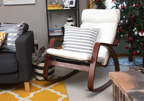 poang rocking chair cover poang rocking chair brown frame zoomly