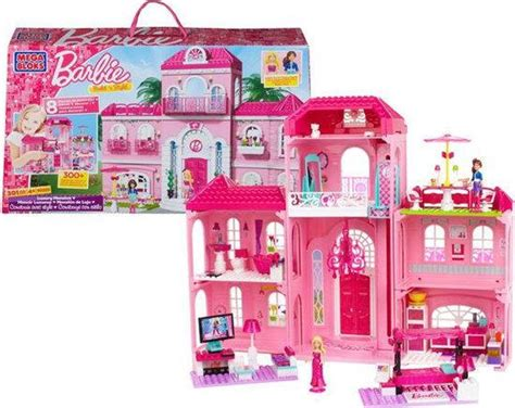 barbie luxe huis bol mega bloks barbie luxe mansion