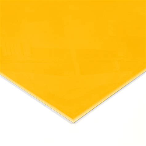 warm yellow warm yellow acrylic splashback sle genie splashbacks