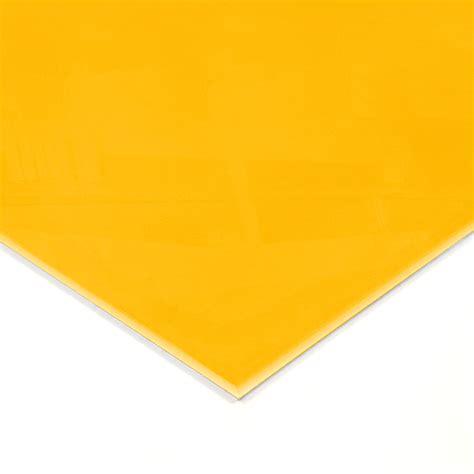 warm yellow warm yellow acrylic splashback sle genie splashbacks