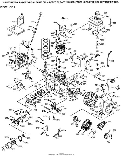 tecumseh parts diagram tecumseh h30 35500z parts diagram for engine parts list 1