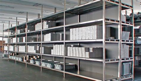 scaffali metalsistem scaffalature metalliche in acciaio inox scaffali componibili