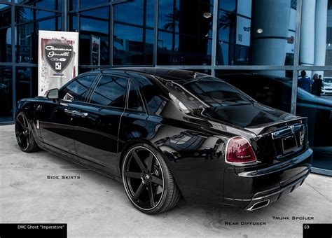 roll royce tuning dmc touch up the rolls royce ghost calling it the imperatore