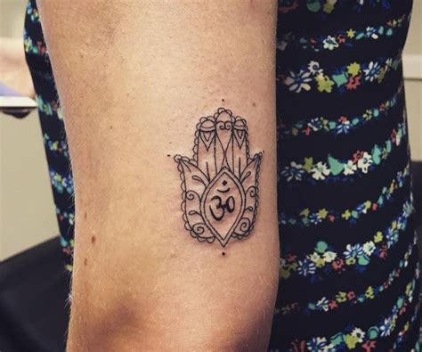 hamsa die hand der fatima tattoo bedeutung amp 30 ideen