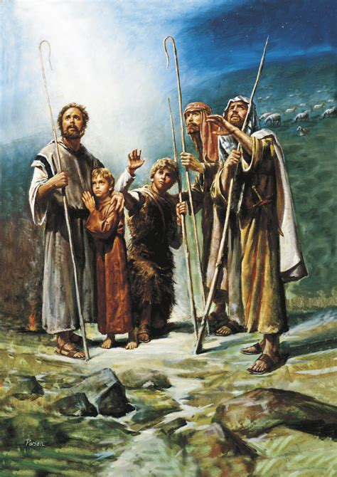 imagenes sud de angeles the announcement of christ s birth to the shepherds