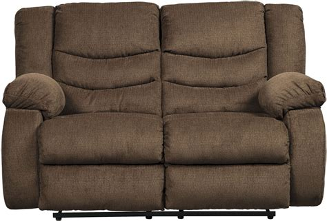 tulen reclining sofa reviews tulen chocolate reclining loveseat 9860586 ashley