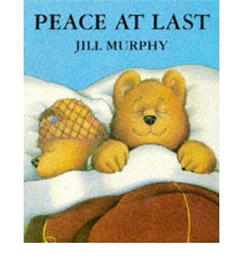peace at last peace at last jill murphy 9780333631980