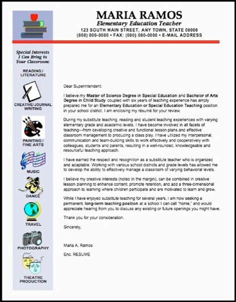 Elementary teacher resume cover letter examples 2 resumes idea
