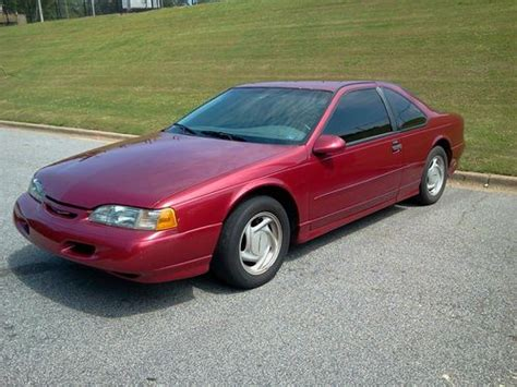 1995 Ford Thunderbird Coupe Find Used 1995 Ford Thunderbird Coupe 5 Speed Coupe