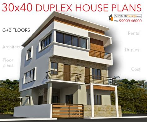 1800 Sq Ft House Plans by 30x40 House Plans In Bangalore For G 1 G 2 G 3 G 4 Floors