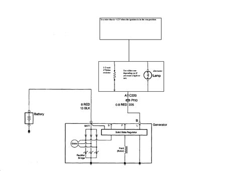 e36 lsx alternator light