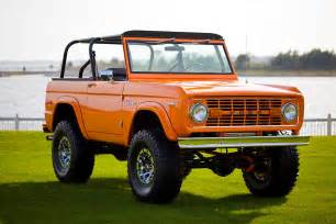 this classic 1972 ford bronco coyote was restored to utter