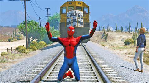 mod gta 5 spiderman spiderman homecoming gta v mods youtube