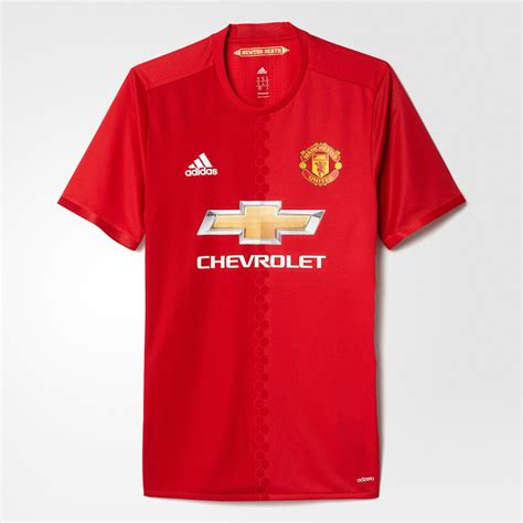 manchester united 16 17 home kit released footy headlines