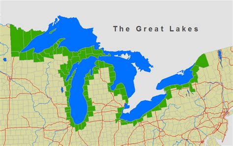 map of united states with great lakes united states map 5 great lakes