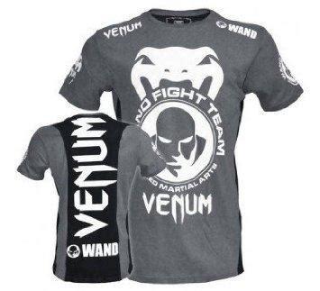 Venum Shockwave 3 T Shirt In Grey ufc mma venum grey wand shirt baju end 8 18 2018 5 15 am
