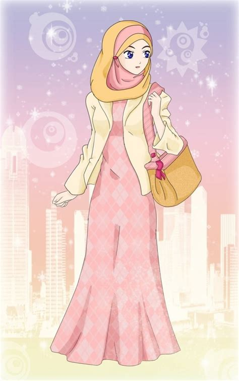anime muslimah 1000 images about hijab cartoon on pinterest muslim