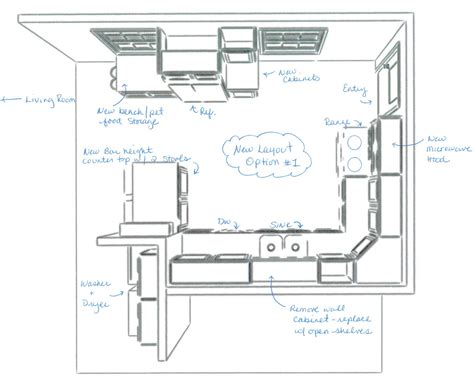 how to design a kitchen island layout small kitchen layout 8060