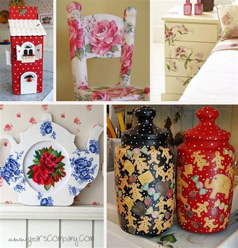 Decoupage Craft Ideas - 49 best decopauge images on crafts projects