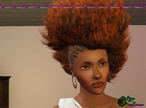 the sims 3 african twists hair by robokitty custom content caboodle