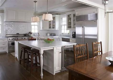 Black and White Kitchen   Transitional   kitchen