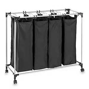 quad laundry sorter hamper studio 3b quad laundry sorter bed bath amp beyond