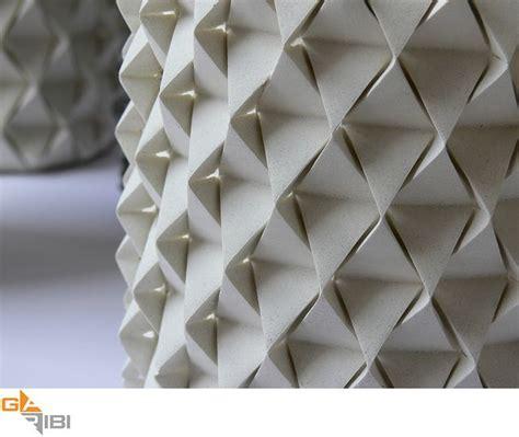 Concrete Origami - palmas concrete origami vases garibi ilan bg c6