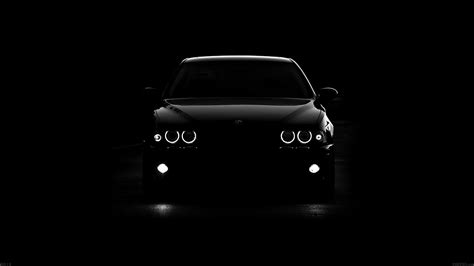 ad bmw car black light papersco