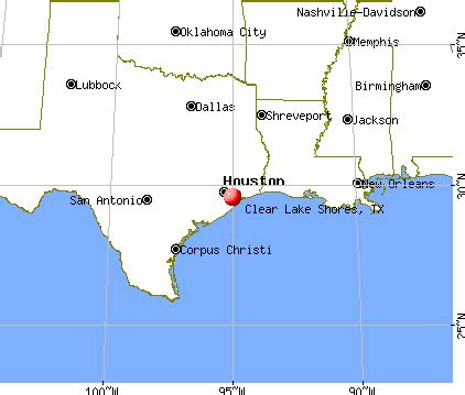 map of clear lake texas clear lake shores texas tx 77573 profile population maps real estate averages homes