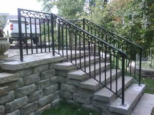 exterior handrail kits for stairs exterior wrought iron railing wrought iron exterior