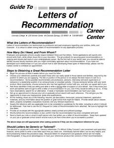 College Letter Of Recommendation Tips Sle Request For Letter Of Recommendation For Graduate School Free Resumes Tips