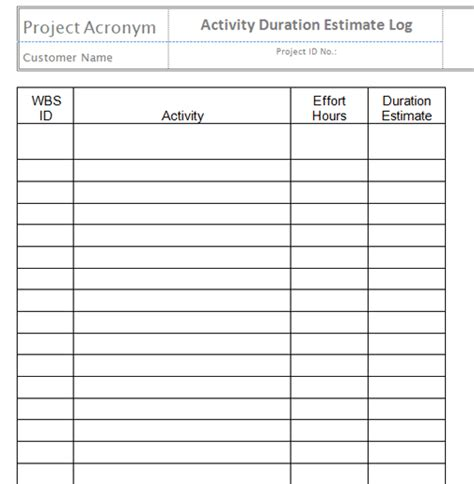 Activity Log Template Template Business Activity Log Template Excel Free